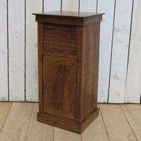 Antique Elm Bedside Cabinet