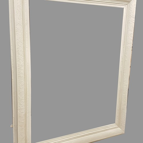 Very Large 19thC Painted Frame