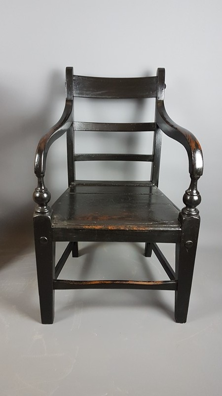 19thC Armchair in Original Black Finish-heirlooms-by-lawrence-20180910_121807-main-636722510441662158.jpg