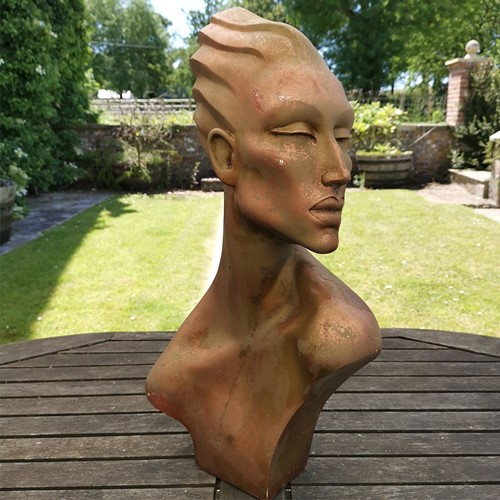 Art Deco Style Bust