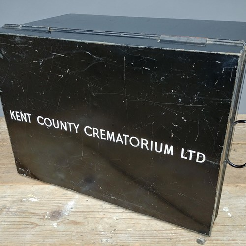 Large Kent County Crematorium Deed box