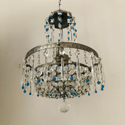 Blue French Chandelier