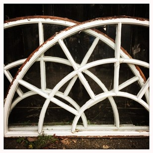 Arched Wooden Window Frames