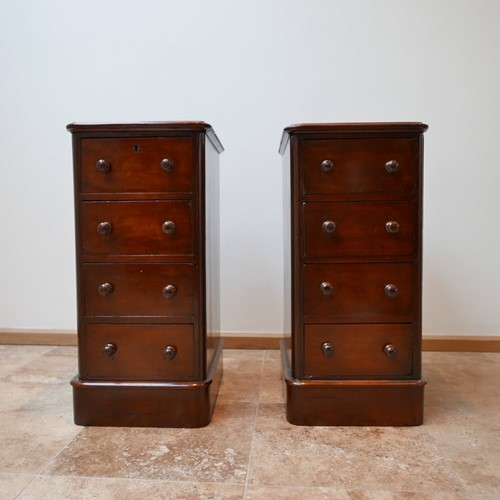 Pair of Edwardian Bedside Drawers