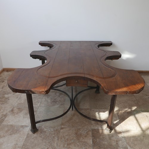 Antique French Jewellery Dining Table