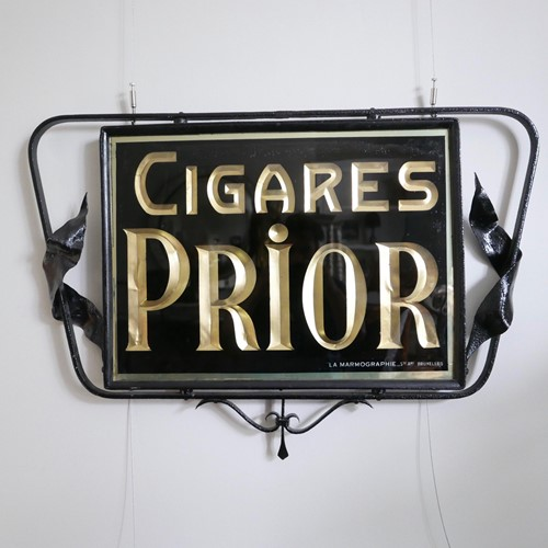 Early 20th century advertising cigar sign
