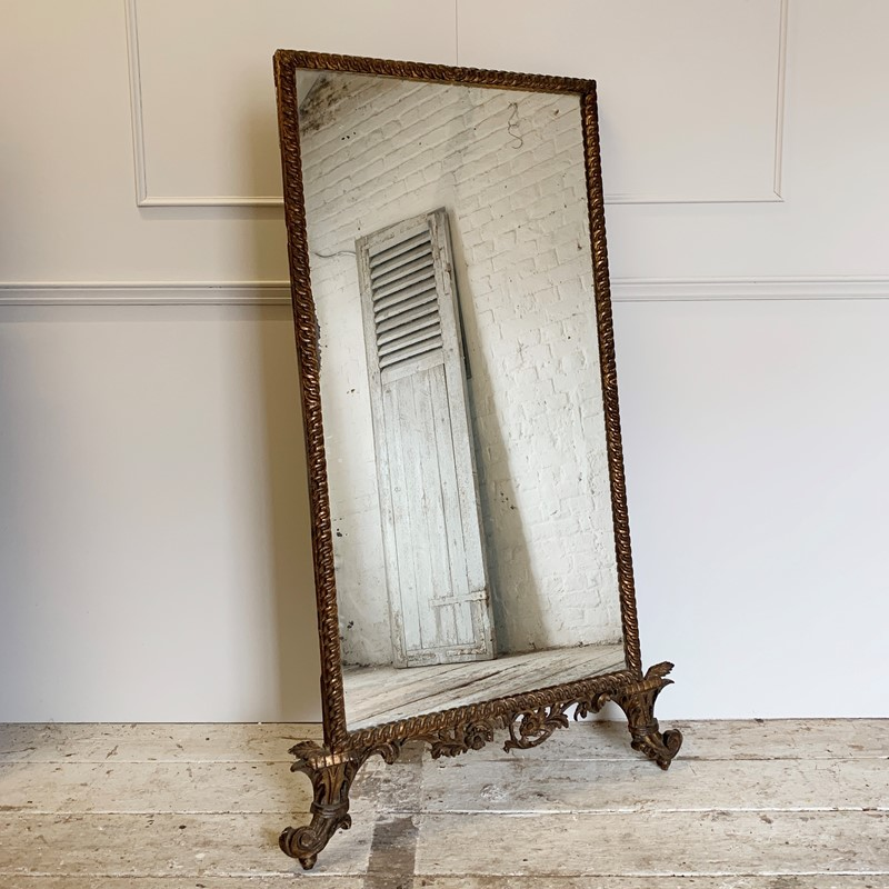 Decorative French Gilt Mirror, 1900's-lct-home-img-4876-main-637316154466543523.jpg