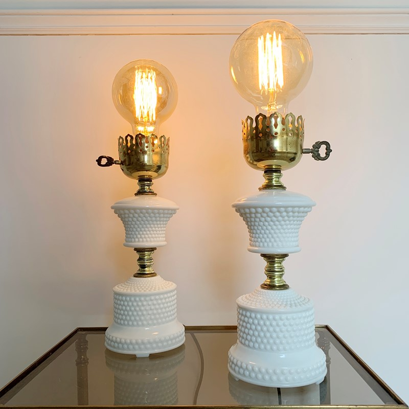 1950'S Hobnail Milk Glass Table Lamps-lct-home-img-6126-main-637327534105662099.jpg