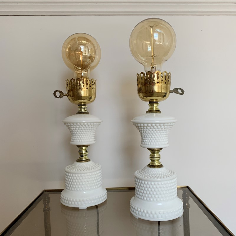 1950'S Hobnail Milk Glass Table Lamps-lct-home-img-6127-main-637327534143785813.jpg
