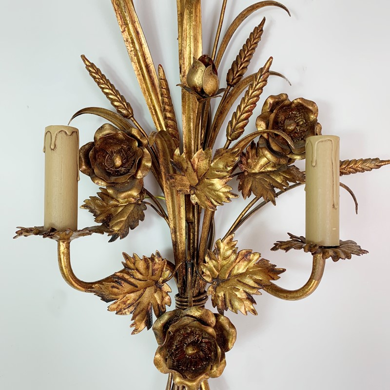 S.Salvadori Wheat Sheaf Sconce Light, 1970's  -lct-home-img-6309-main-637387120989426986.jpg