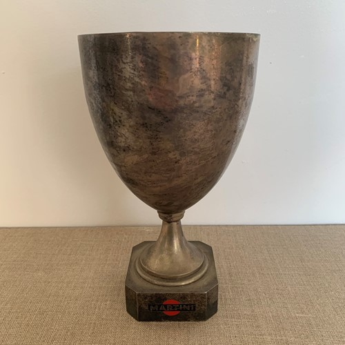 Vintage French Martini bar trophy cup