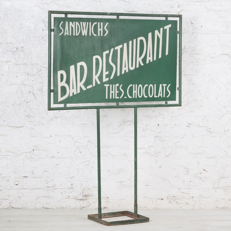 Freestanding French Bar / Restaurant Painted Sign-ljw-antiques-0571-faceright-main-636824784972602449.jpg