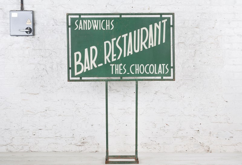 Freestanding French Bar / Restaurant Painted Sign-ljw-antiques-0571-main-main-636824780506420376.jpg