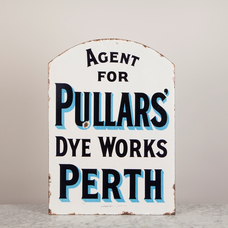 A double-sided enamel sign for Pullars of Perth-ljw-antiques-1051-1-main-637210774749296466.jpg