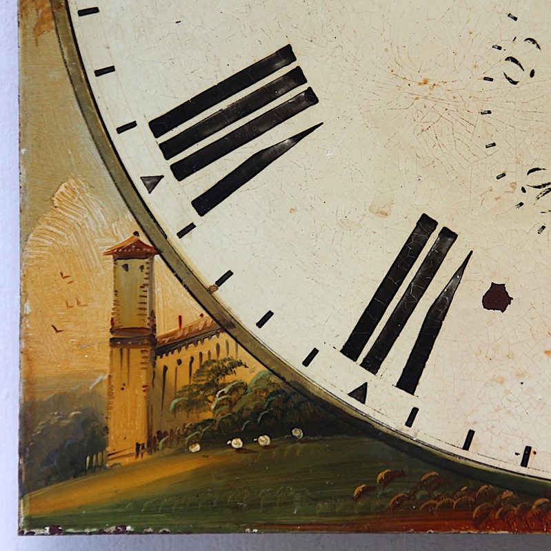 19th century heavy iron clock dial hand painted-london-timepiece-6703h-main-637395817695950556.JPG