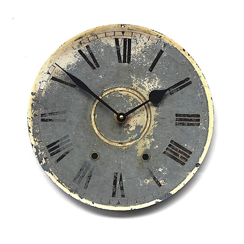Early 20th century railway-type vintage clock