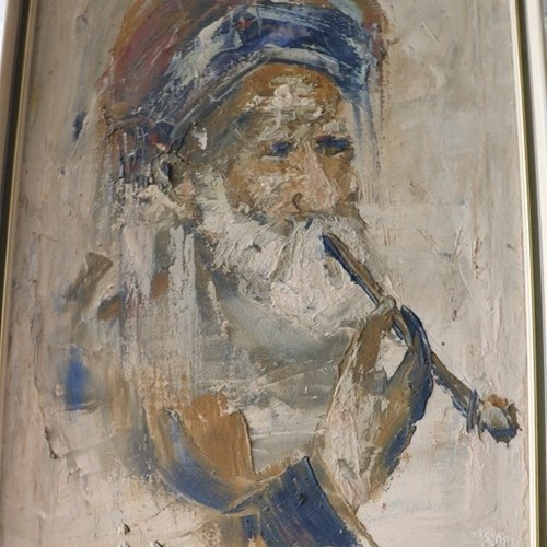 Iranian Oil Painting