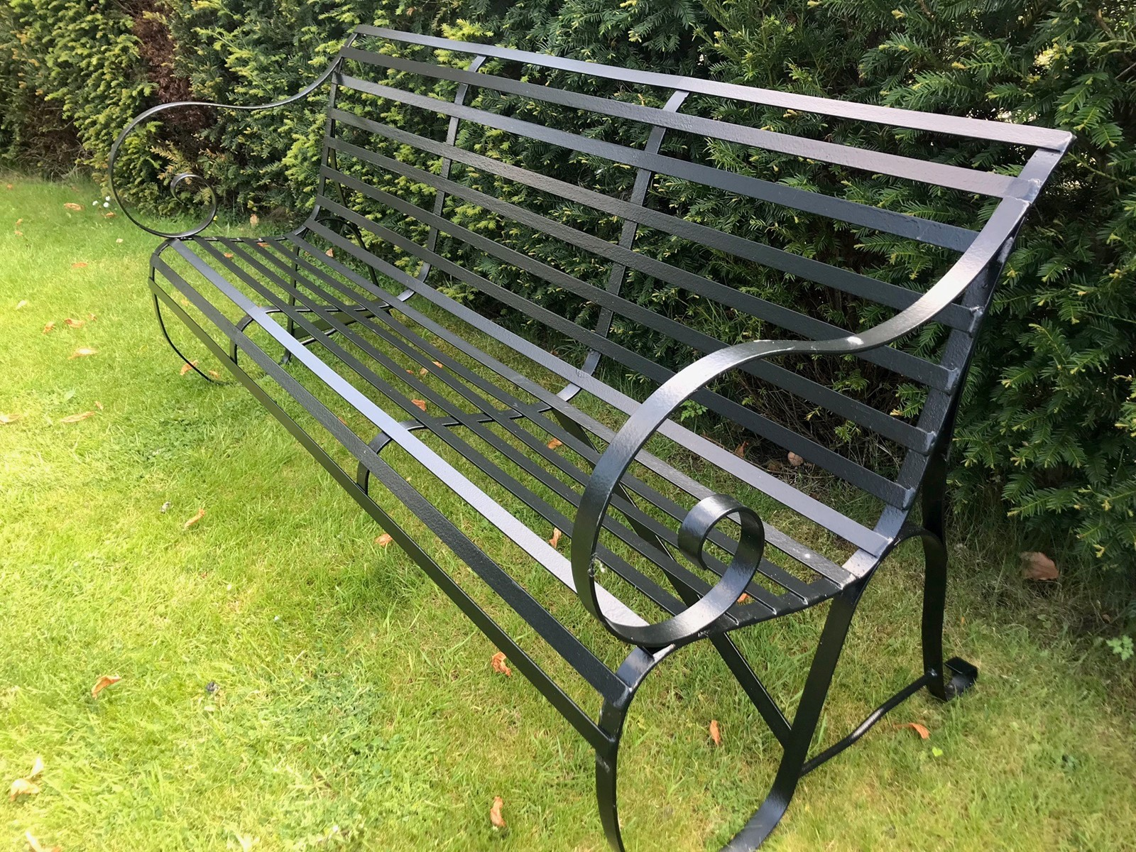 3 Seater Hand Made Metal Garden Benches The Hoarde