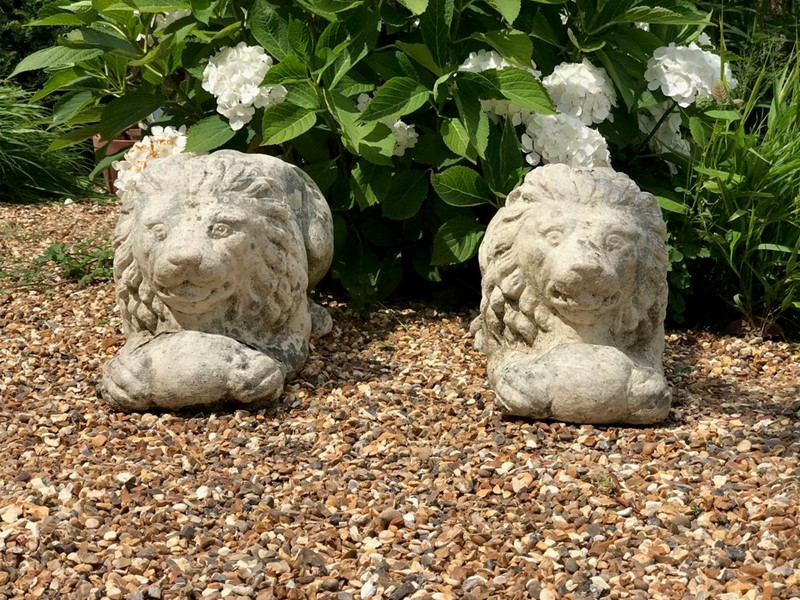 Pair of Recumbant Lions-louise-hall-decorative-img-4483-main-637100382431773173.jpg