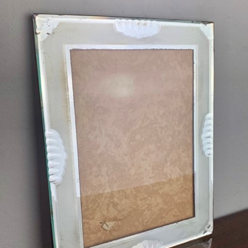 1950's French Hollywood Regency Mirrored Frame