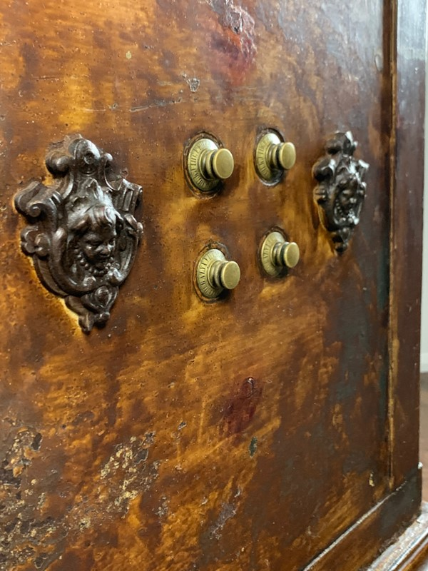 19th Century Antique Iron and Wood Safe, Petitjean-lovingly-made-furniture-img-4151-main-637448518828329980.jpeg