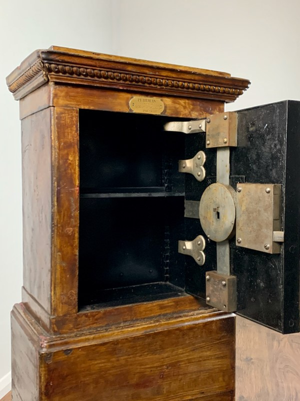 19th Century Antique Iron and Wood Safe, Petitjean-lovingly-made-furniture-img-4160-main-637448518853642355.jpeg