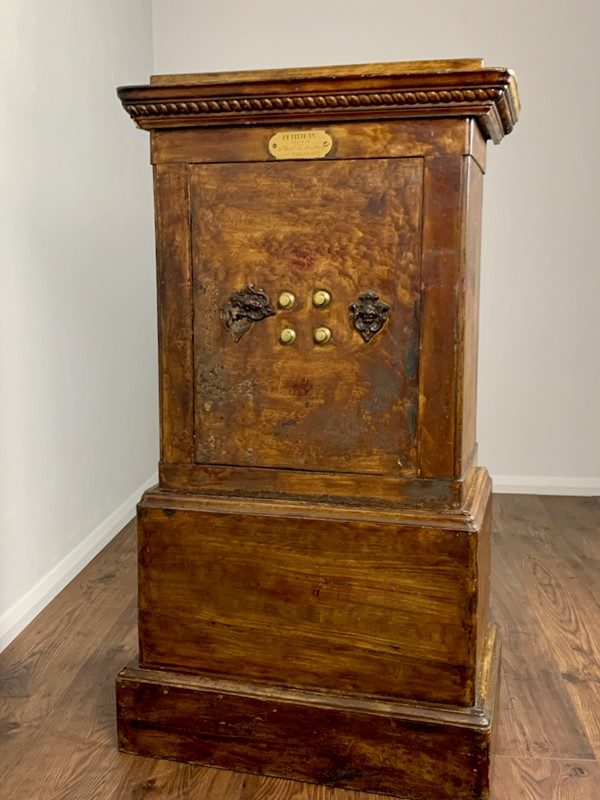 19th Century Antique Iron and Wood Safe, Petitjean-lovingly-made-furniture-img-4162-main-637448518857548091.jpeg