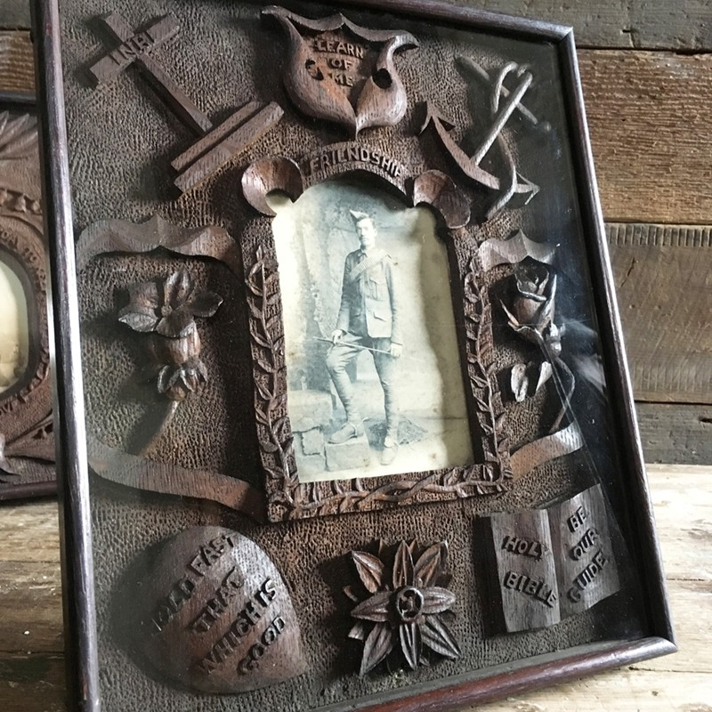 Antique folk art carved frame - soldier-marc-kitchen-smith-KS6611_IMG_3555ed-main-636624991964932200.jpg