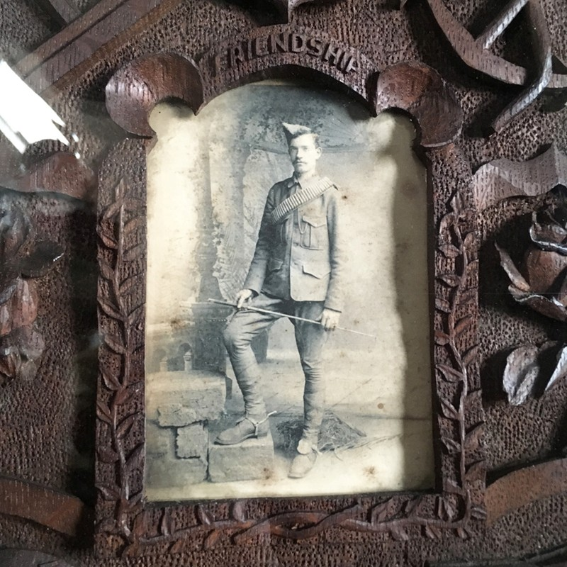 Antique folk art carved frame - soldier-marc-kitchen-smith-KS6611_IMG_3557ed-main-636624992329990920.jpg