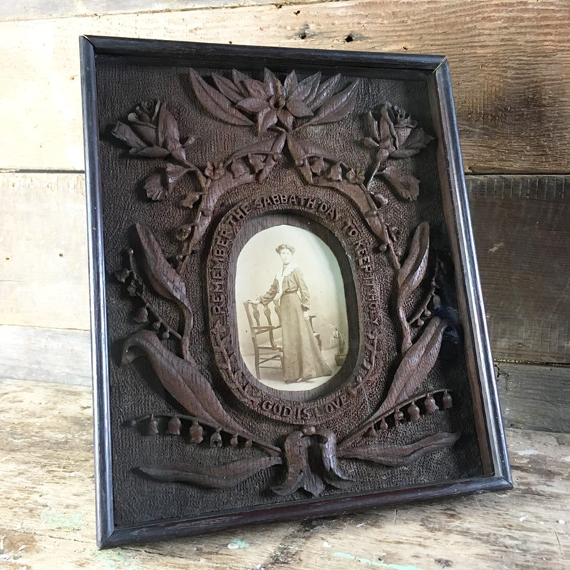 Antique folk art carved frame - woman-marc-kitchen-smith-KS6612_IMG_3523ed_1000px-main-636624995132830648.jpg