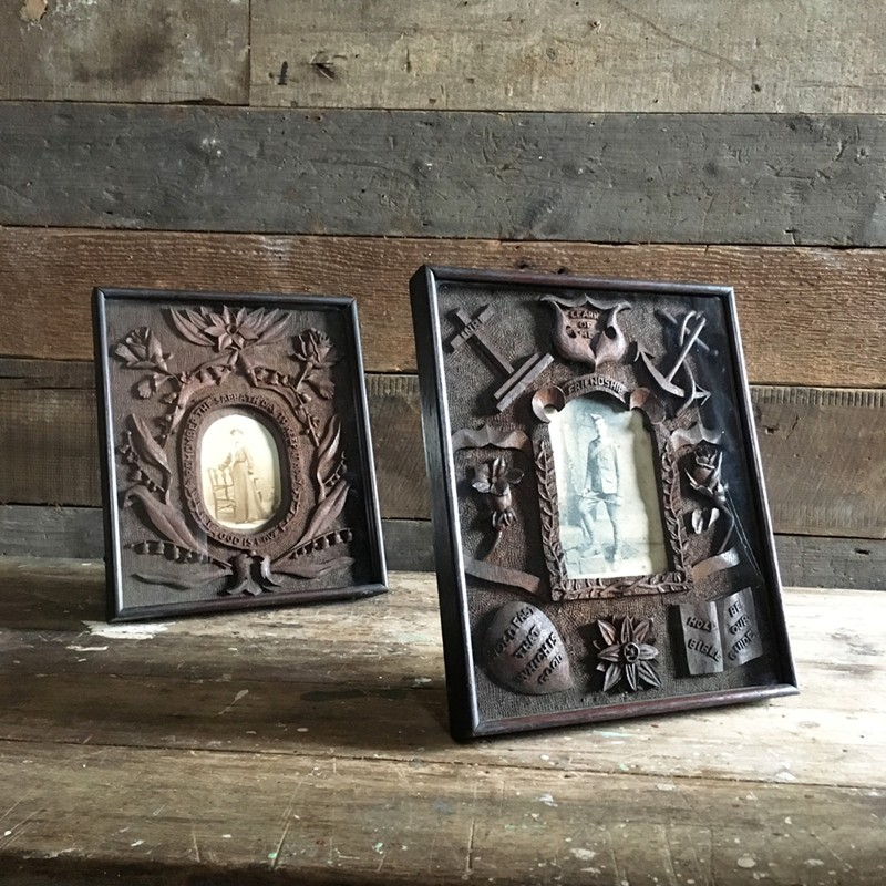Antique folk art carved frame - soldier-marc-kitchen-smith-KS6612_KS6611_IMG_3552ed_1000px-main-636624994373851728.jpg