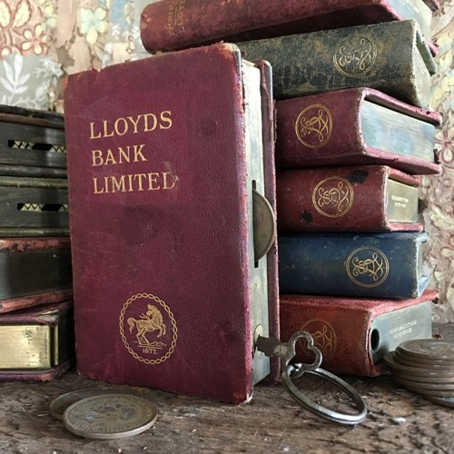 Lloyds Bank money box 'books'