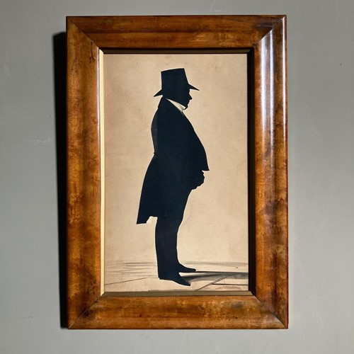 19th C William Hubard silhouette