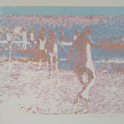 1973 Bathers Seaside Screenprint 14 of 25
