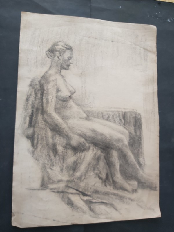 1940s French Charcoal Female Nude Life Study-masthead-art-s15605-12-main-637324177920915158.jpg