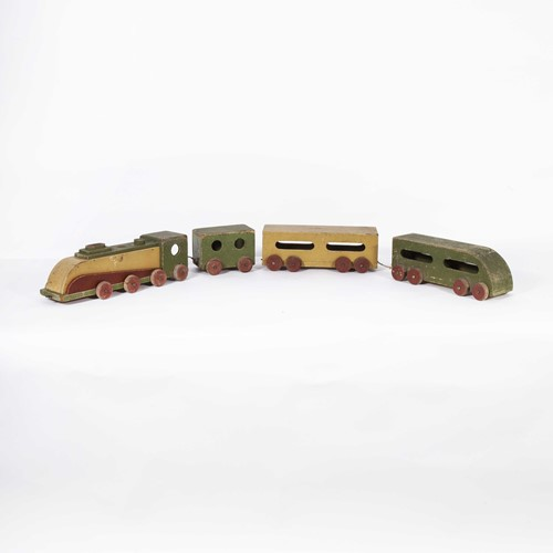 1950's Wooden Toy Train