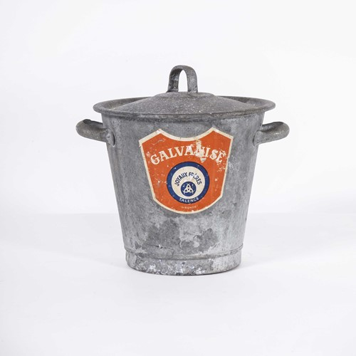1950's Salemans Sample Galvanised Bucket