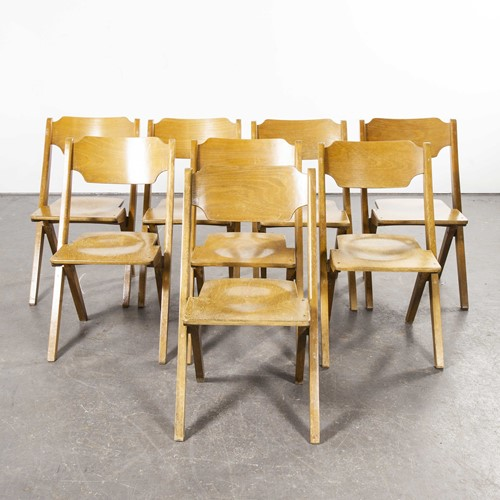 1960's Bombenstabil Stacking Chairs - Set Of Eight