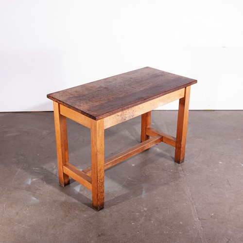1950'S High Laboratory Rectangular Dining Table