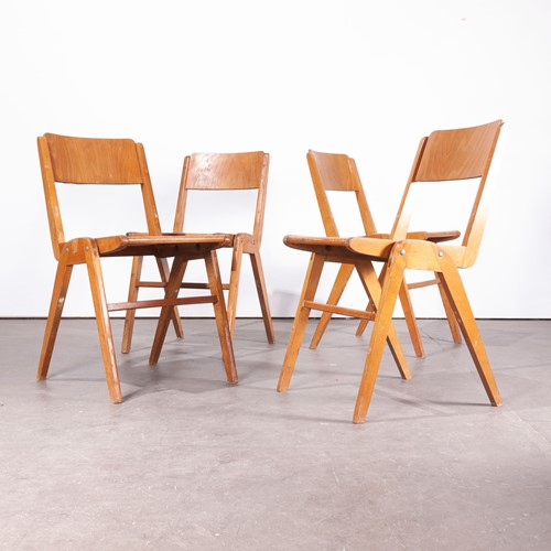 1950's Vintage Casala Dining Chairs Set Of four