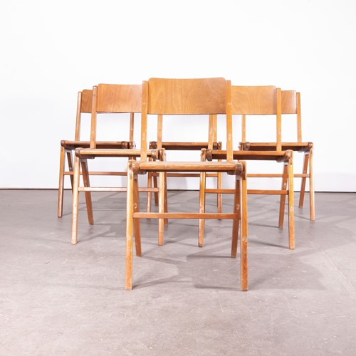 1950's  Vintage Casala Dining Chairs Set Of Six