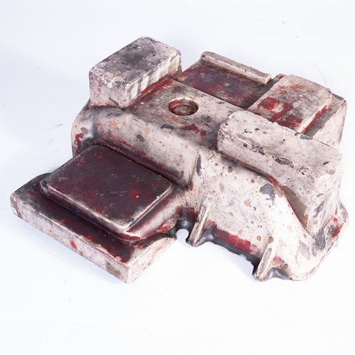 1960's Industrial Decorative Foundry Casting Mould