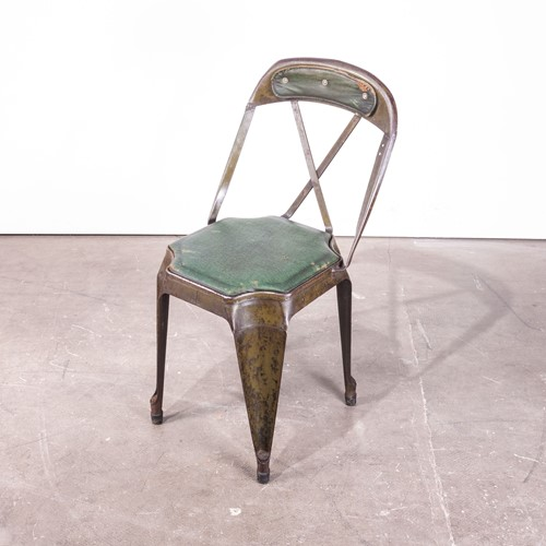 1930's Evertaut Cross Back Dining Chair
