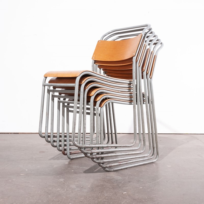1950's Tubular Metal Stacking Chairs - Set Of Six -merchant-found-3116c-main-637072721316516068.jpg