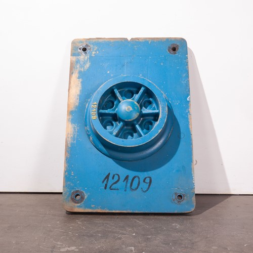 1960's  Large Industrial Casting Mould 90cm Tall