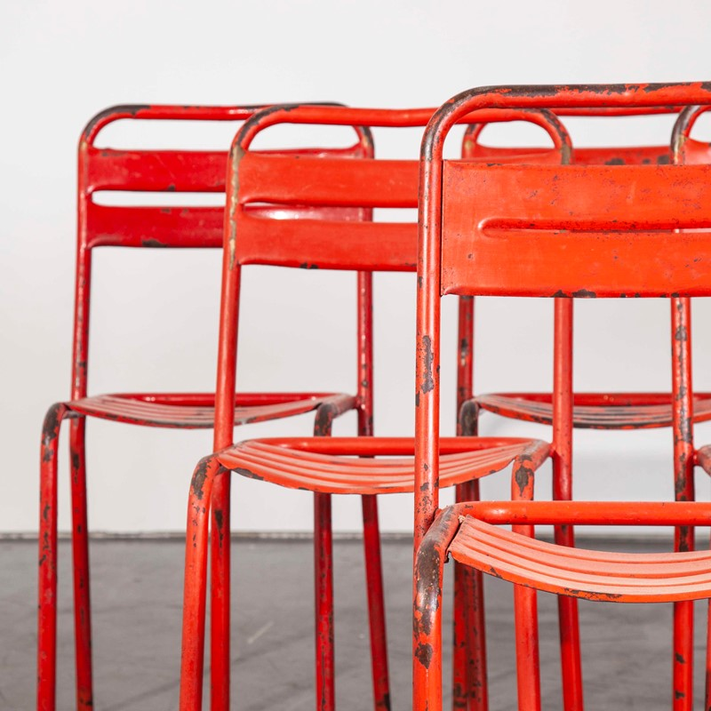 1950's French Red Tolix Metal Chairs - Set Of Six-merchant-found-454i-main-637290481989656432.jpg