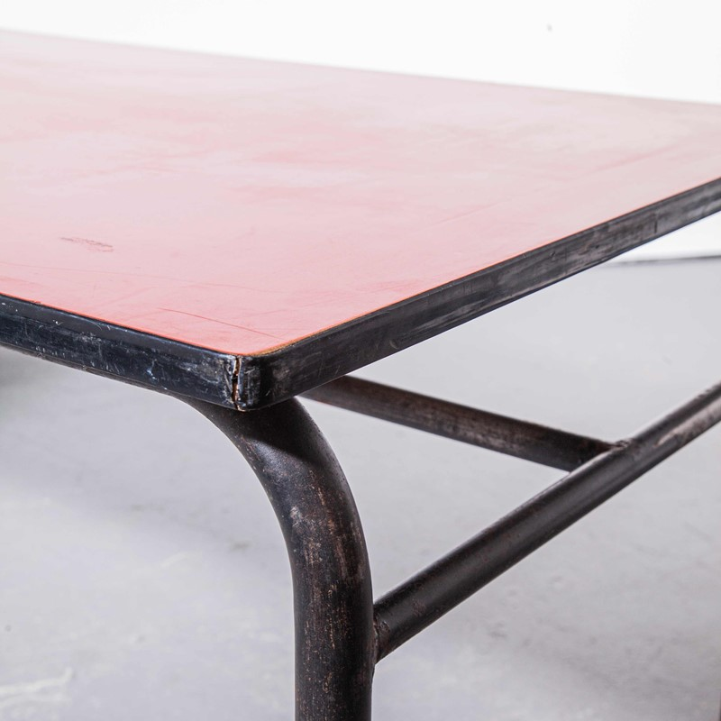 1960's French Large Industrial Work - Dining Table-merchant-found-456c-main-637250469456842123.jpg