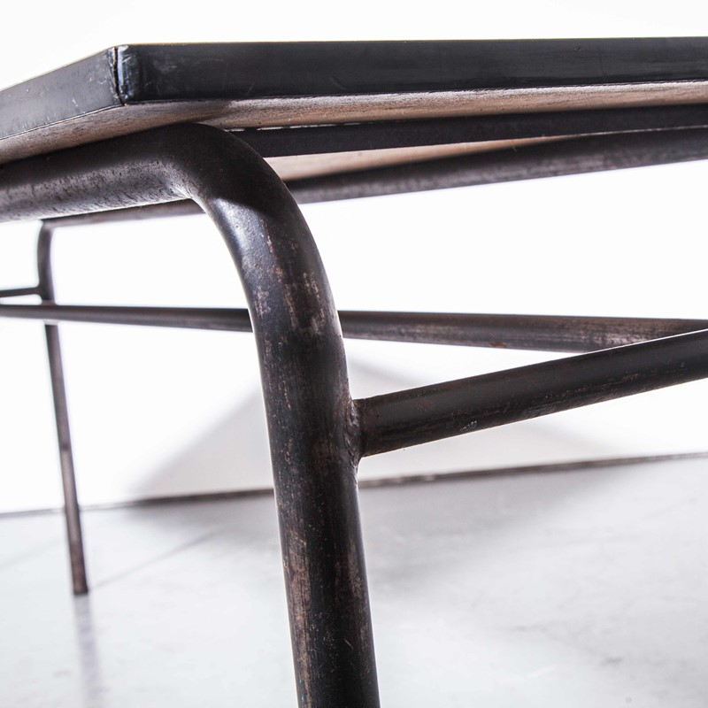 1960's French Large Industrial Work - Dining Table-merchant-found-456f-main-637250469538559948.jpg