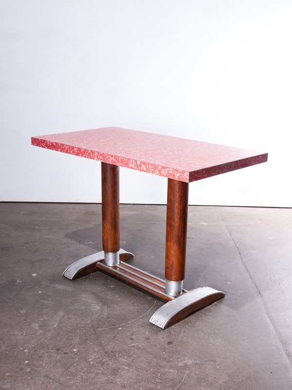 1950'sFrench Bistro Café Dining Table Laminate Top-merchant-found-461-main-637072704857542490.jpg