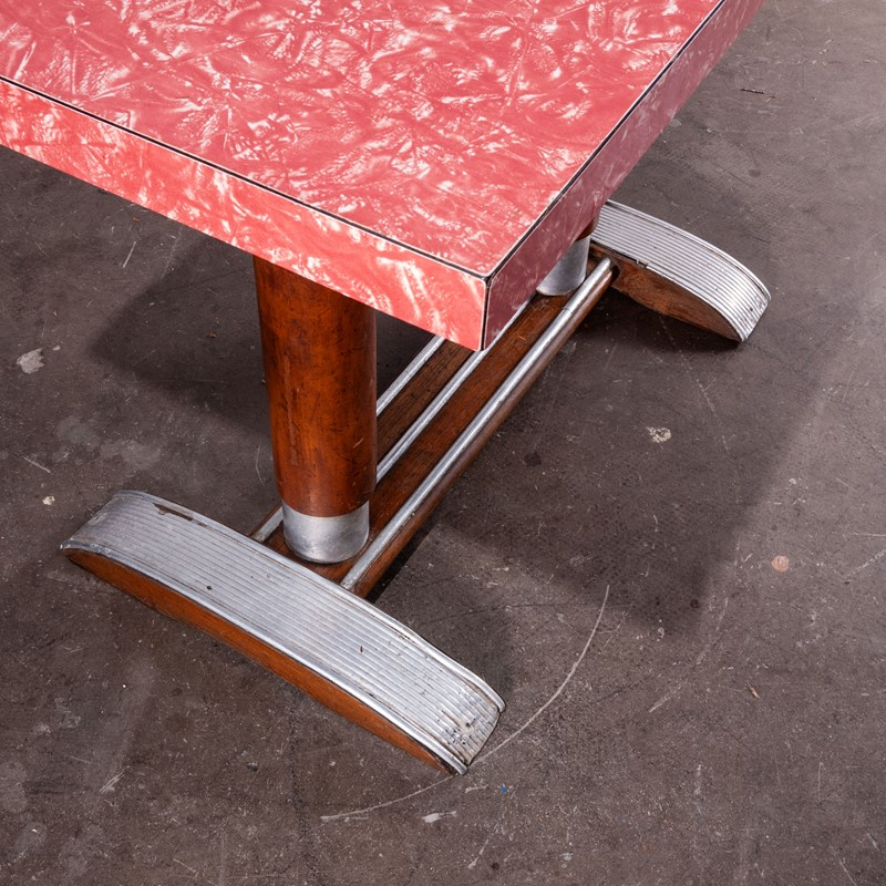 1950'sFrench Bistro Café Dining Table Laminate Top-merchant-found-461f-main-637072705035823436.jpg
